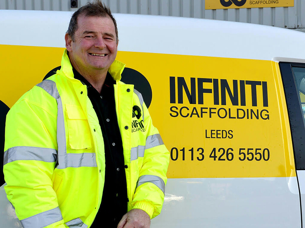 New Leeds depot unveiled by Infiniti Scaffolding